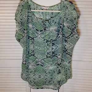 CAbi Darby Blouse Size Large